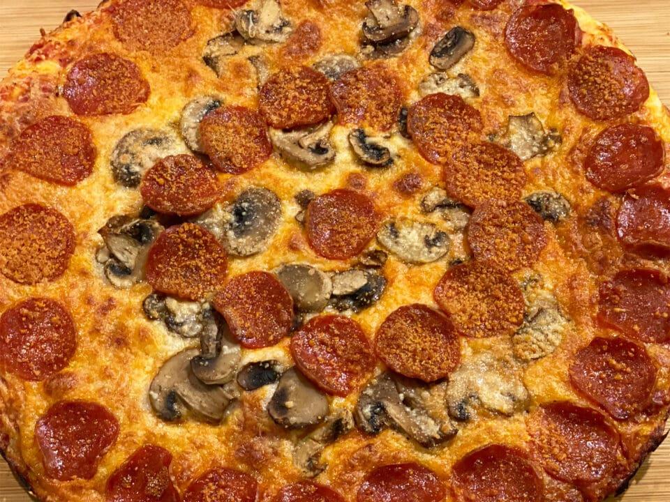 Chicago Pub Style Pizza thin crust recipe