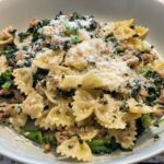 kale and italian sausage pasta