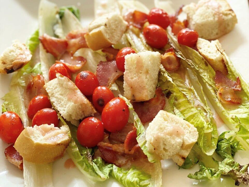 Grilled BLT salad recipe